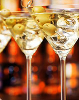 learn to make a dry martini, margarita or white russian