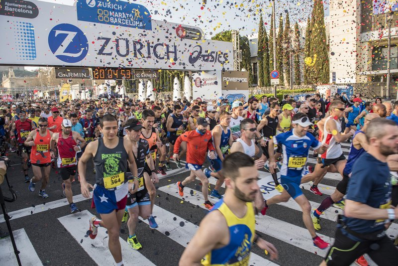 Barcelona Vibes: official partner of the Zurich Barcelona Marathon